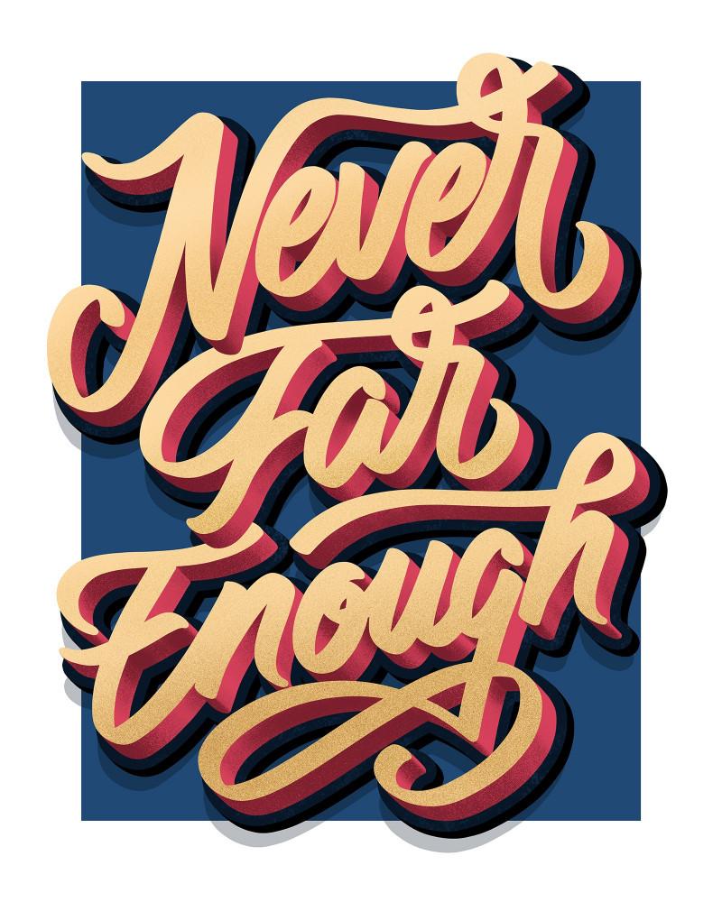 Never far enough